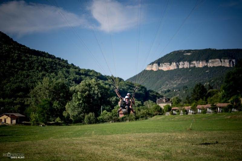 site de vol parapente