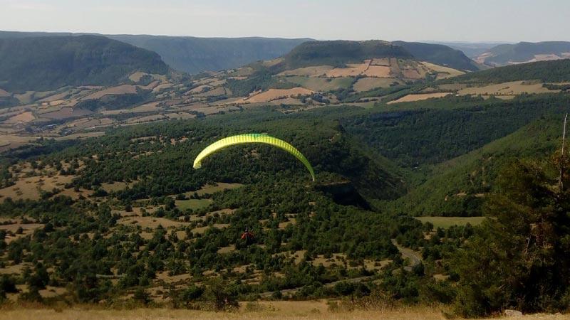 Site parapente Aveyron